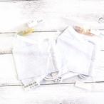 【ちょこまみぃ】折り返し型立体布マスク(冷感・レース)・レディースサイズ/マスク