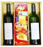 ギフト フランスワイン シャトー・ラ・レイル ベルジュラック 赤白 & ピコス&チーズ 10種セット