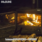 Mt.SUMI(マウント・スミ) Locomo アウトドア薪ストーブ/WIDE 焚火 BBQ バーベキュー アウトドア 用品 キャンプ グッズ OG1910C18-03