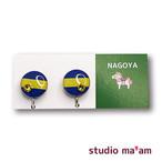 ■NAGOYA-03  イヤリング。まる。〜ピアス変更可〜
