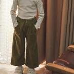 MERCIU CORDUROY PANTS KHAKI(90cm〜110cmサイズ展開)
