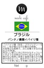 【数量超限定!】ブラジル セラード パンタノ農園 イバイリ品種 200g