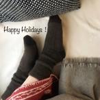 YAK×100%天然繊維が足を冷えから守り蒸れない冷え症の方に自信を持ってお勧め【厚手M】