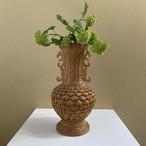 rattan flower vase