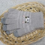 【猫・シマネコ】スマホ手袋【17316-631-006】
