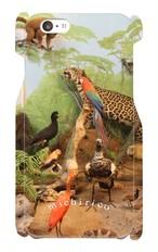 iPhone6/6s用  スマホケース  動物たち  【鳥たちとヒョウ】