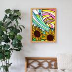 原画 A3(Sun Flower)