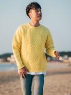 ThreeArrows Wool Knit (lemon yellow)