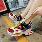 【shoes】合わせやすいカジュアル配色スニーカー22899101