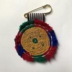 [Trophy] Hand Needle Brooch _17(ヴィンテージ ハンドメイド 刺繍ブローチ)