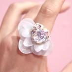 【リング.29】phantomFLOWER crystal