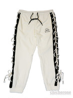 【chi che ro】Power S/L Jogger P/T White