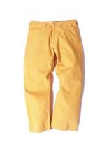 Cotton Twill Frisco Pants/ mustard