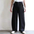 PHEENY【 womens 】kersey high waist wide ballon pants