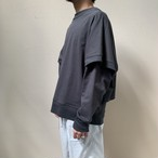 RAINMAKER - LAYERED SWEAT SHIRT
