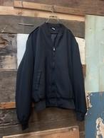 80's black zip blouson