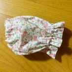 ピンク系 花柄 スヌード
