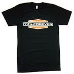 74's Foerever B&S Logo tee shirt, BLK