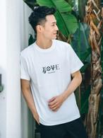 LOVE S/S TEE (white)
