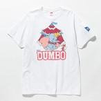 "VOTE / ©DISNEY ""DUMBO"" TEE - WHT"