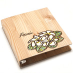 Wood File A5 [one point Plumeria]