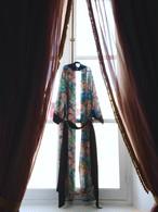 Medium Robe Floral Black ミディアムローブフローラルブラック
