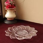 昭和レトロ プラ製 お花の形の皿