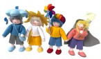 エレメントドール 雨・風・虹・太陽の子達
