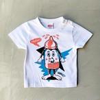 WC johnny × YONZY MILKY BOYS KIDS Tシャツ ホワイト