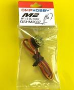 ◆OSHM2037、2065、2121 ◆ M2ブラシレステールモーター カラー / イエロー、オレンジ、ブルー、パープル(ネオヘリでM2購入者のみ購入可)