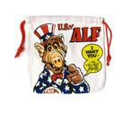 【即納】巾着袋 アルフ ALF アメリカンキャラクター 給食袋 コップ袋 14-0-419