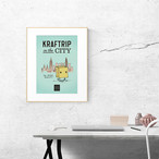 KRAFTRIP IN THE CITY ポスターA4