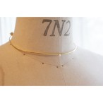Beatriz Palacios/ Two-sided choker