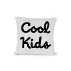 クッション / Cool Kids Cushion (B&W) 35×35cm (クールキッズ) / WOOUF! BARCELONA (ウーフバルセロナ)