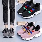 【shoes】スニーカースポーツおしゃれ厚底ファッション合わせやすい