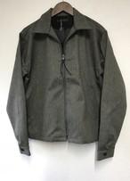 modem design  zip Jacket /チャコール