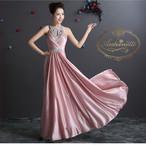 演奏会 舞台 ドレス 贅沢ビジュー ロングドレス  舞台衣装 キャバドレス ビジュー ホステスドレス