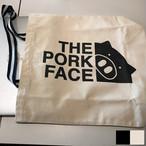 【THE PORK FACE】レギュラーキャンバストートバッグ【Mサイズ/3カラー】
