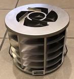 チタン製グリル直径18㎝ 収納袋つき