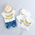 キッズバナナ柄パンツ+Tシャツ2点セットFanTaStiCおすすめ品