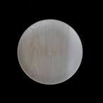 高野竹工 木皿 栓(セン)24cm