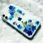 【ほぼ全機種対応スマホケース❁】押し花スマホケース NO.608  押し花&レジン iPhone/Xperia/AQUOS/Galaxy他
