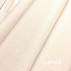 カルトナージュ用 高品質イタリア製本革 (クリーム色)