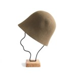 mature ha./free hat back stitch mocha