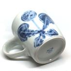 【砥部焼/佐藤窯】マグカップ(たんぽぽ)