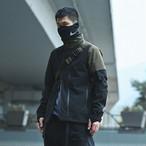 NOSUCISM 20AW 斜めジッパースタンドカラージャケット