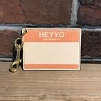 DFA: HEYYO! CARD CASE Limited Color Orange