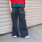【sandglass】sailor flare pants/ 【サンドグラス】セーラー フレア パンツ