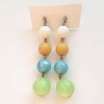 pastel beads pierce[p-264]