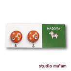 ■NAGOYA-02  イヤリング。まる。〜ピアス変更可〜